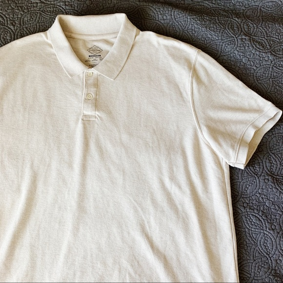 St. John's Bay Other - NWOT Cream Performance Polo, XXL
